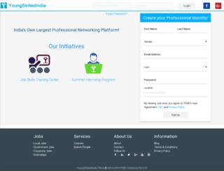 youngskillindia.com screenshot