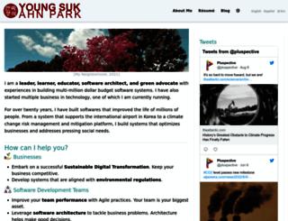 youngsukahn.com screenshot
