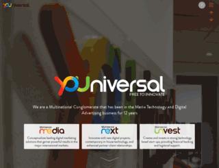 youniversalnext.com screenshot