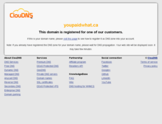 youpaidwhat.ca screenshot