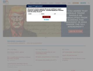 youpower.democracyforamerica.com screenshot