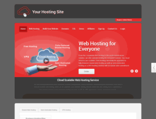 your-hosting-site.com screenshot