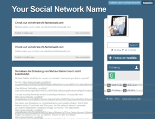 your-social-network.tumblr.com screenshot