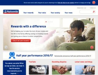 your.nationwide.co.uk screenshot