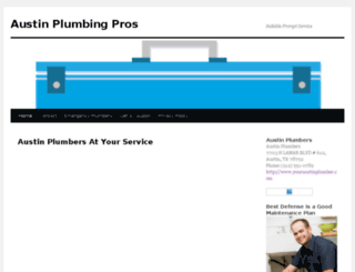 youraustinplumber.com screenshot