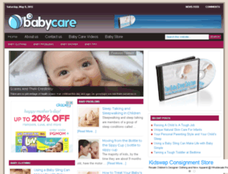 yourbabycare.info screenshot