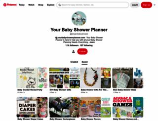 yourbabyshowerplanner.com screenshot