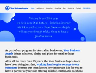 yourbusinessangels.com.au screenshot