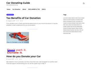 yourcardonations.org screenshot
