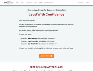 yourcharismacoach.com screenshot