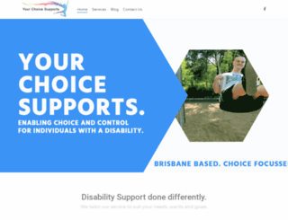 yourchoicesupports.com.au screenshot