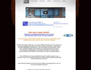 yourchristiancpa.com screenshot