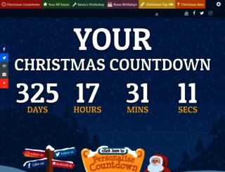 yourchristmascountdown.com screenshot