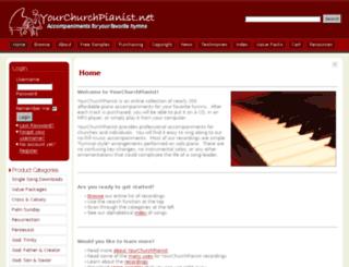 yourchurchpianist.net screenshot