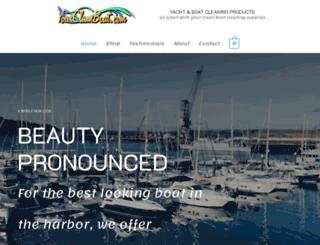 yourcleanboat.com screenshot