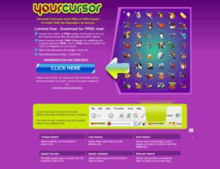 yourcursor.com screenshot