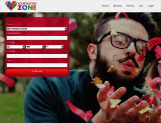 yourdatingzone.com screenshot