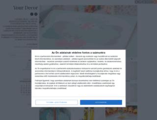 yourdecor.blog.hu screenshot