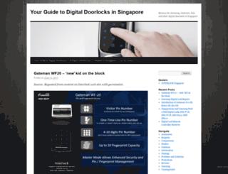 yourdigitallock.wordpress.com screenshot