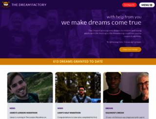 yourdreamfactory.org screenshot