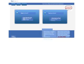 yourdriver.homestead.com screenshot