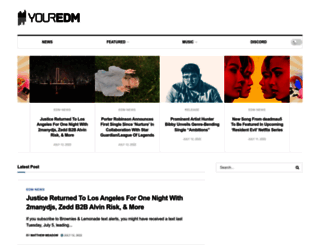 youredm.com screenshot