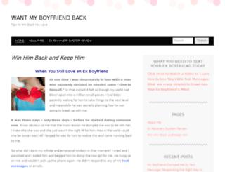 yourexboyfriendback.net screenshot