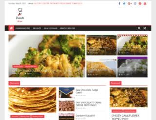 yourfavoriterecipes.com screenshot