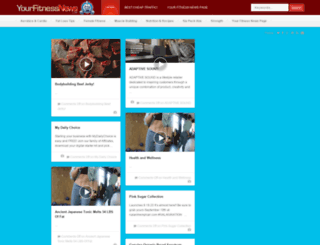 yourfitnessnews.com screenshot