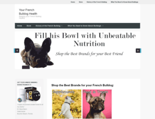 yourfrenchbulldoghealth.com screenshot