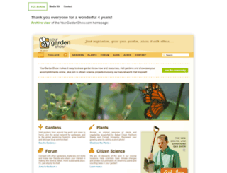 yourgardenshow.com screenshot