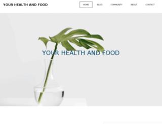 yourhealthandfood.com screenshot