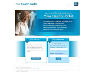yourhealthportal.com.au screenshot