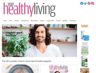 yourhealthyliving.co.uk screenshot