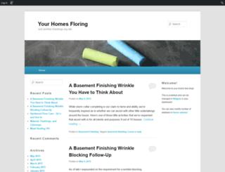 yourhomesflooring.edublogs.org screenshot