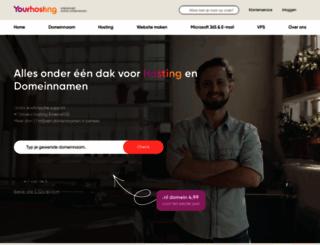 yourhosting.nl screenshot