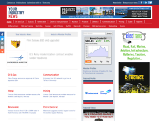 yourindustrynews.com screenshot