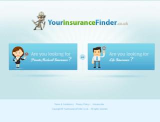yourinsurancefinder.co.uk screenshot