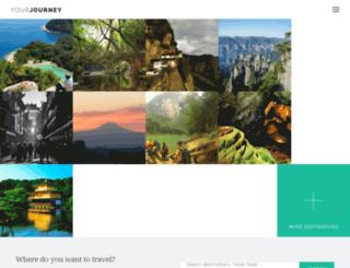 yourjourney.wiloke.net screenshot