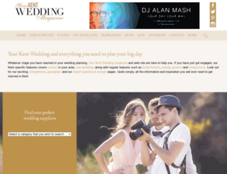 yourkentwedding.com screenshot