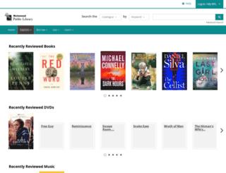 yourlibrary.bibliocommons.com screenshot
