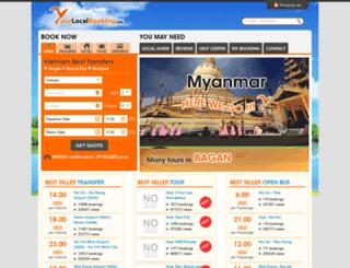 yourlocalbooking.com screenshot