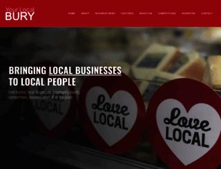 yourlocalbury.co.uk screenshot