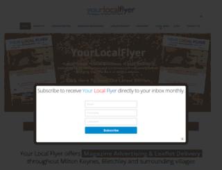 yourlocalflyer.co.uk screenshot
