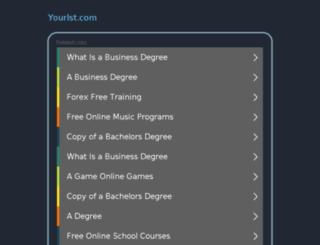 yourlst.com screenshot