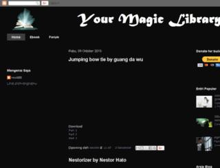 yourmagiclibrary.blogspot.fr screenshot