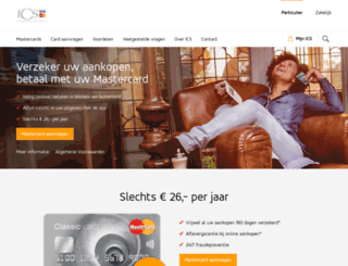 yourmastercard.nl screenshot