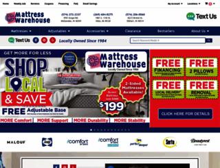 yourmattresswarehouse.com screenshot