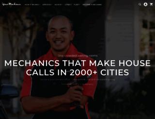 yourmechanic.com screenshot