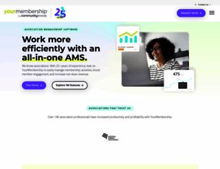 yourmembership.com screenshot